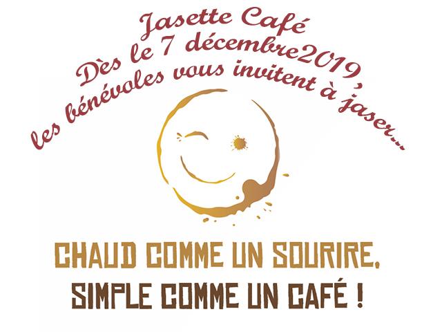 Au menu de ce samedi 7 décembre : déballage de jouets, réouverture du Jasette Café et carte cadeau !