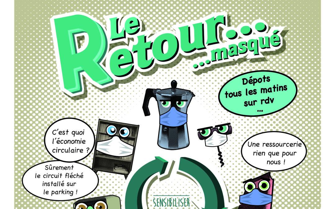 Réouverture de la ressourcerie au public le samedi 13 juin !